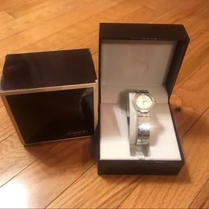 Coach Stainless Steel Signature CC Ladies watch
